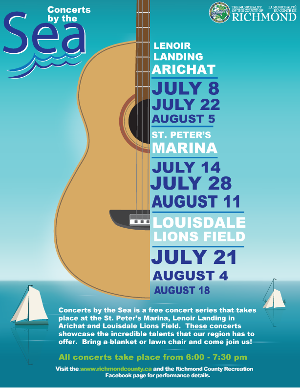 Concerts by the Sea Poster 2021