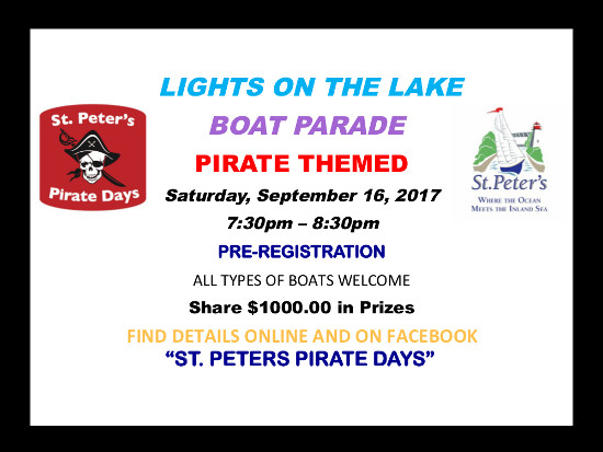 Pirate Days 2017 Lights on the Lake