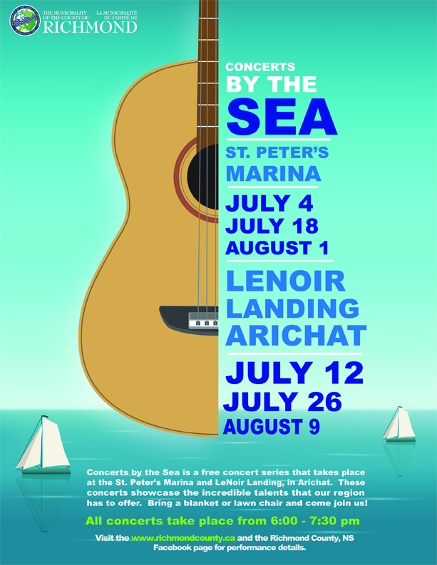 Concerts by the Sea Poster 2018