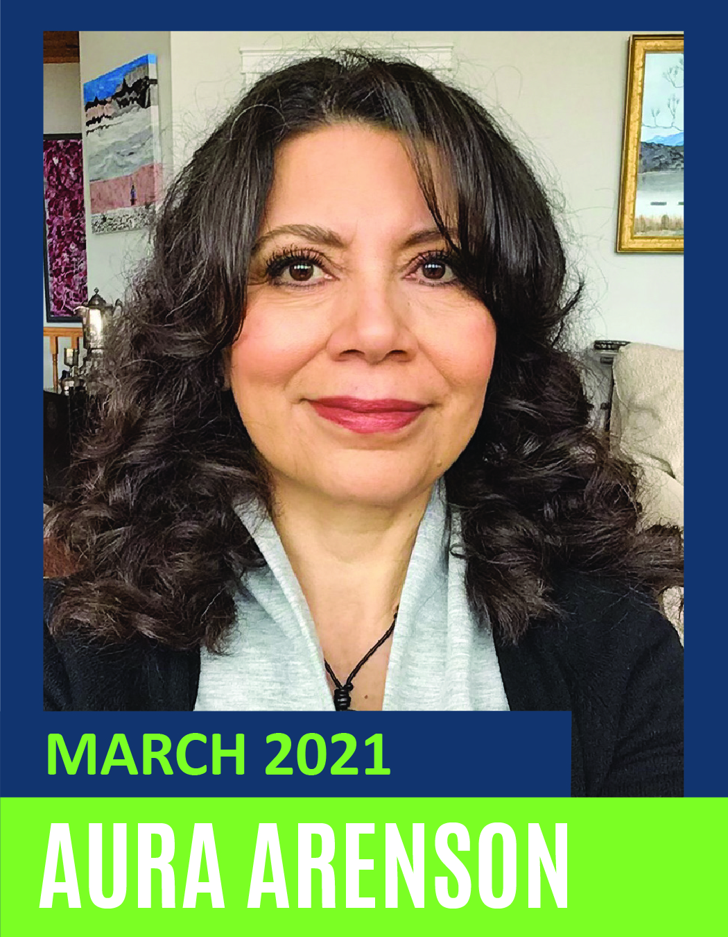 March Volunteer of the Month - Aura Arenson