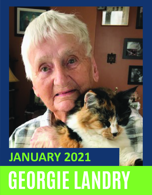 January Volunteer of the Month - Georgie Landry