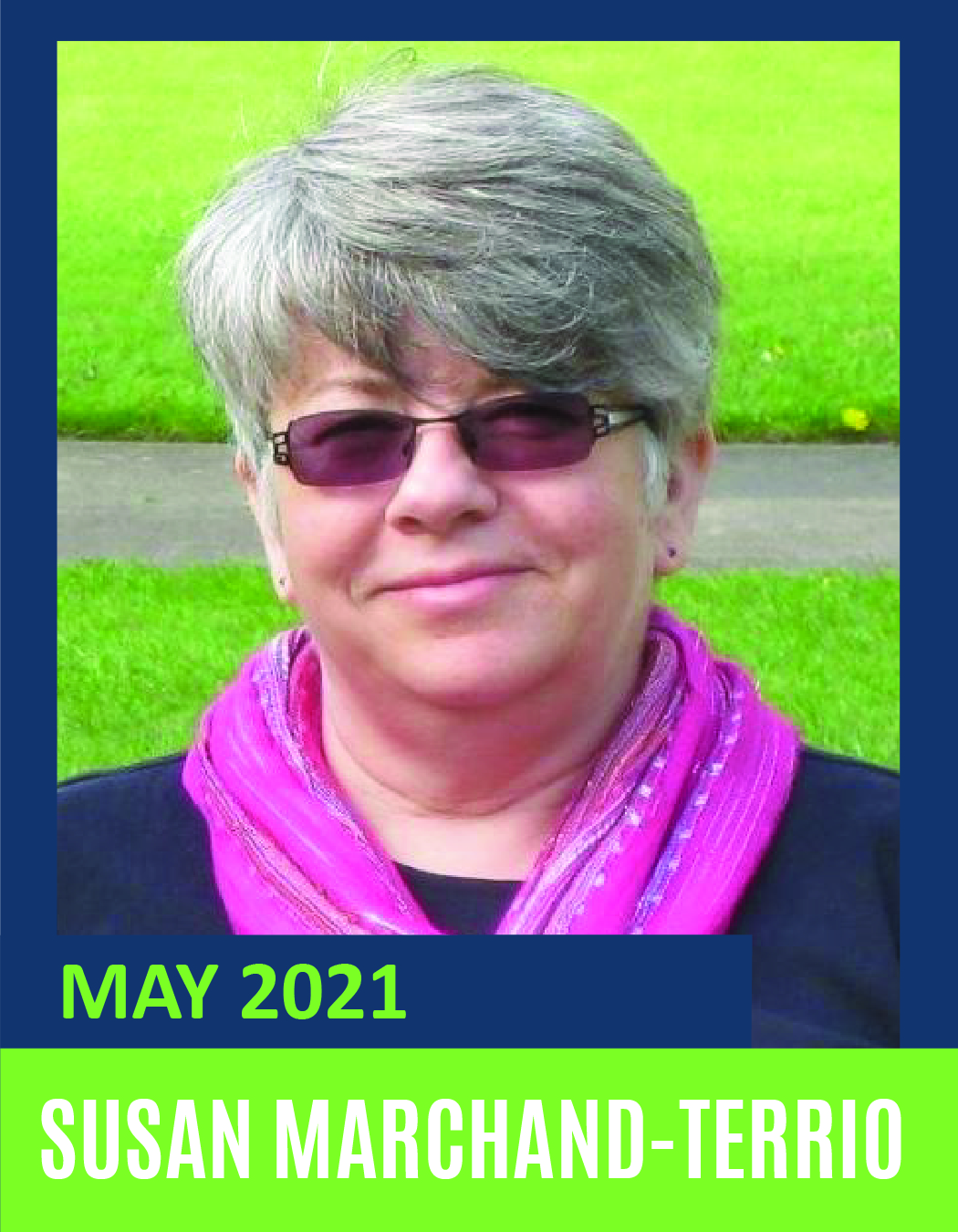 May Volunteer of the Month -Susan Marchand Terrio