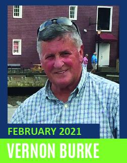February Volunteer of the Month - Vernon Burke
